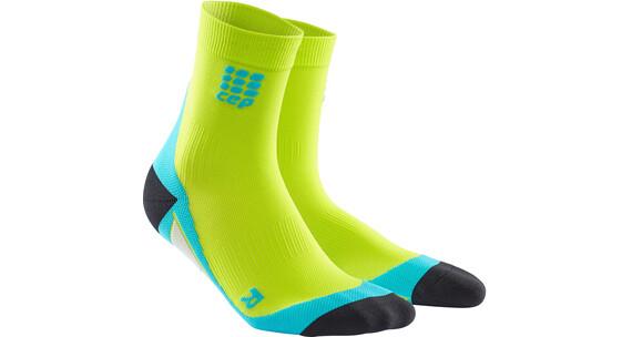 cep Short - Chaussettes course à pied Homme - vert/turquoise